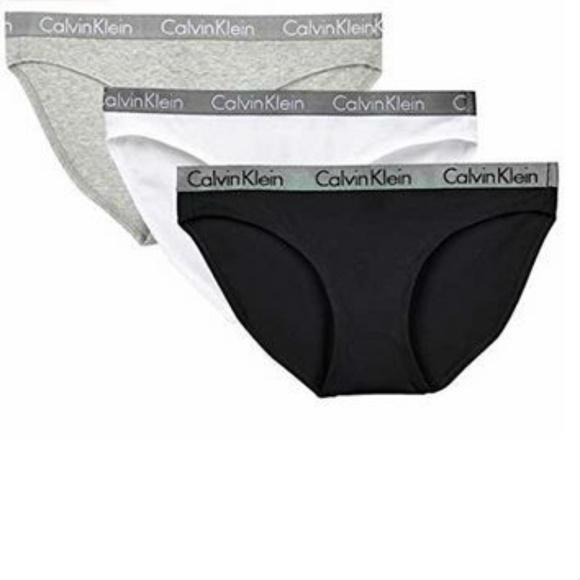 6aac390cc Calvin Klein Women s 3 Pack Carousel Bikini Panty